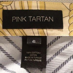 Pink Tartan Tops - Pink Tartan blouse L